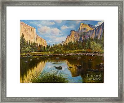 Yosemite Framed Print by Rosario Meza