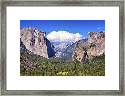 Yosemite Valley Beauty Framed Print