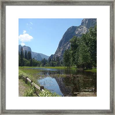 Yosemite Valley Framed Print by Catherine DeHart