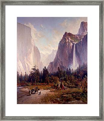 Yosemite Valley Framed Print by Celestial Images