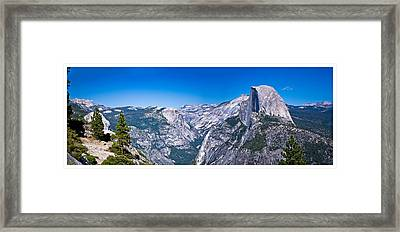 Yosemite Valley From Glacier Point Framed Print
