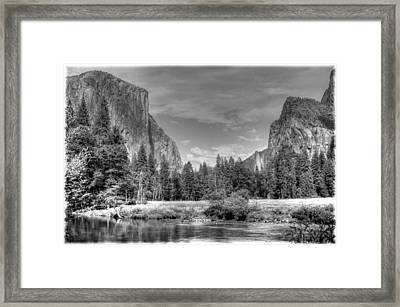 Yosemite Valley Framed Print by Geraldine Alexander