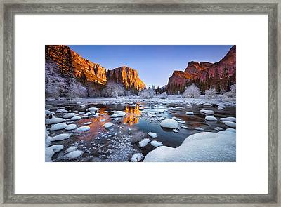 Yosemite Valley Framed Print by Lincoln Harrison