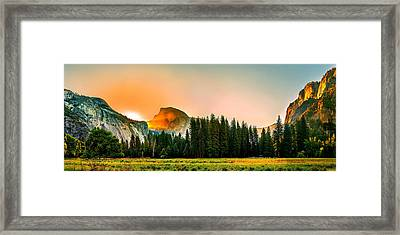 Sunrise Surprise Framed Print