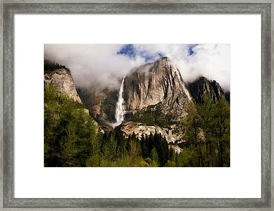 Framed Print featuring the photograph Yosemite Valley View by Donna Kennedy