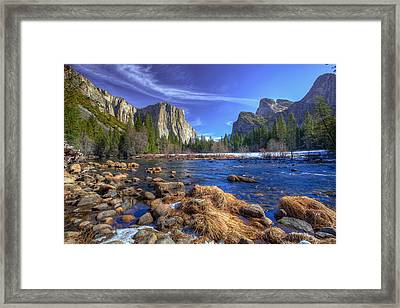 Yosemite's Valley View Framed Print by Mike Lee