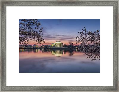 Yoshino Sunrise Framed Print