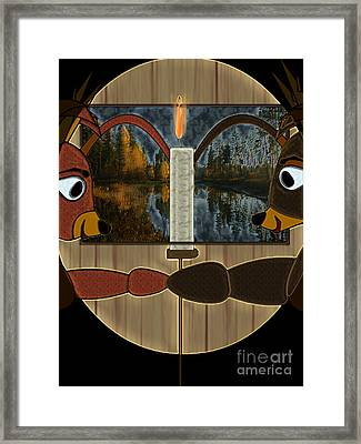 You And I Framed Print by NightVisions