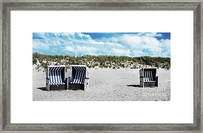 You And Me And ... Framed Print by Hannes Cmarits