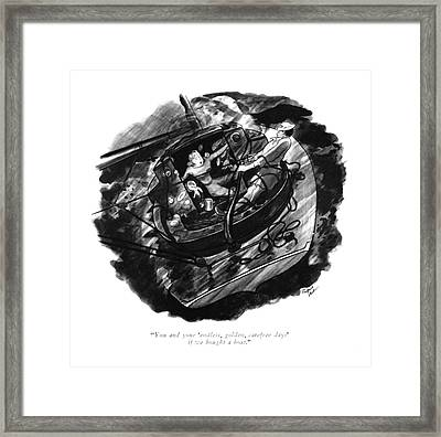 You And Your 'endless Framed Print