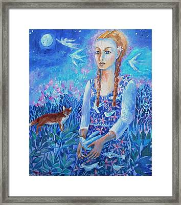 You Are A Child Of The Universe  Framed Print by Trudi Doyle