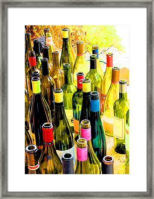 You Are Invited To A Wine Tasting... Framed Print