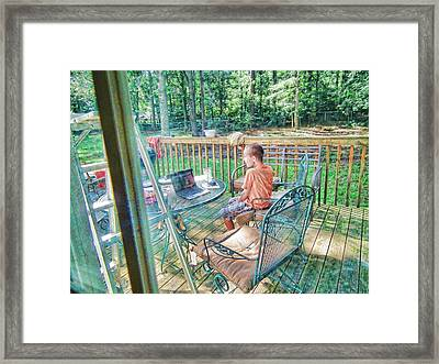 You Are Kidding Me Framed Print by Robert Rhoads