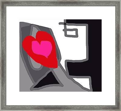 You Are My Forever Valentine Framed Print