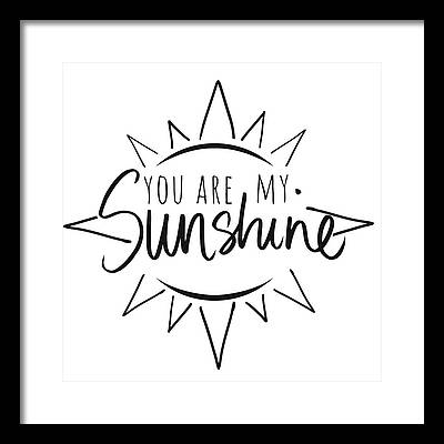 Sunshine Framed Prints