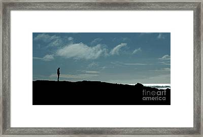 You Are Never Alone Framed Print by Nick  Boren