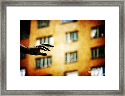 You Are Never Alone Framed Print