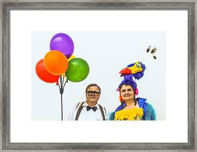 Having Fun Framed Print by Pamela Schreckengost