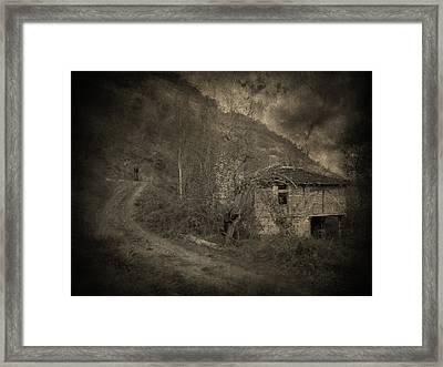 You Are Not Here Framed Print by Taylan Apukovska