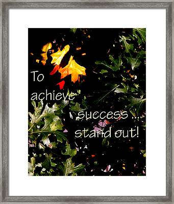 You Are Outstanding 21079 Framed Print