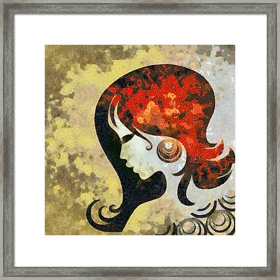 You Are The Only 1 Framed Print by Angelina Vick