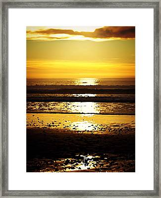 You Are The Salt Of The Earth And The Light Of The World Framed Print by Sharon Soberon