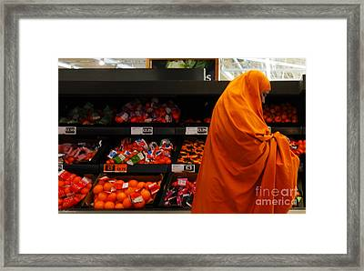 You Are What You Eat Framed Print by Pete Edmunds