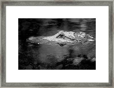 You Better Not Go At Night Framed Print by Wade Brooks