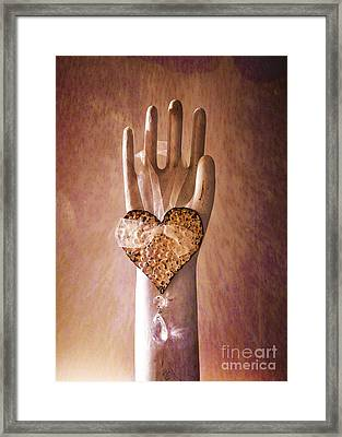 You Can Have My Heart Framed Print by Terry Rowe