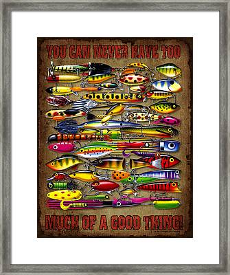You Can Never Have... Framed Print by Jon Q Wright