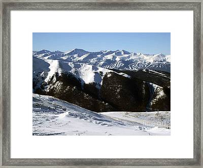 You Can See Forever Framed Print by Fiona Kennard