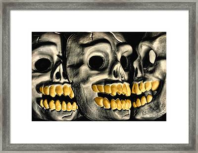 You Can Take It With You Framed Print