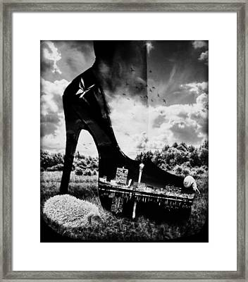 You Can Take The Girl Out Of The City.... Framed Print