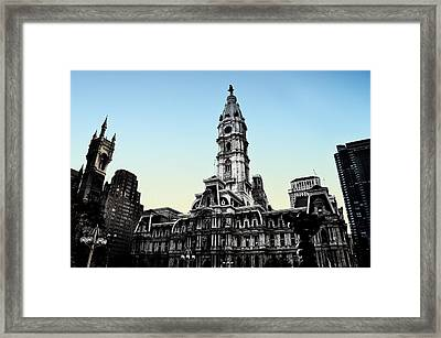 You Can't Fight City Hall Framed Print