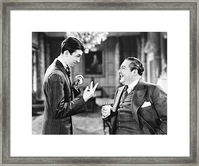 You Cant Take It With You, From Left Framed Print by Everett