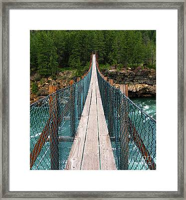 You First Framed Print by Patricia Januszkiewicz