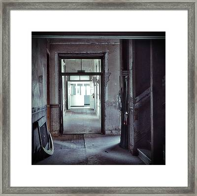 You Go First Framed Print