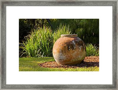 You Go Its Your Urn Framed Print by Rich Franco