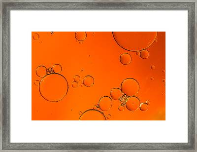 You Got Me Floatin Framed Print by Andrew Pacheco