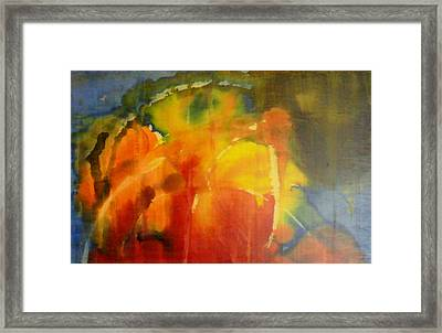 You Have Anointed My Head With Oil You Have Filled My Glass To The Brim Framed Print by Lalo Gutierrez