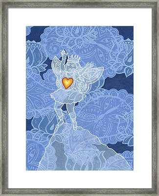 You Have Courage Framed Print