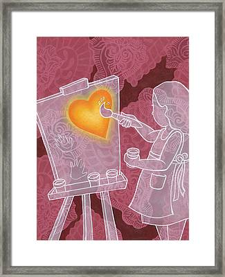 You Have Creativity Framed Print