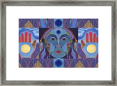 You Have The Power Framed Print by Helena Tiainen