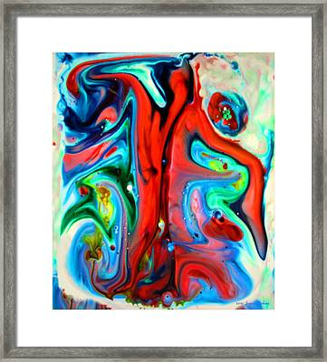 Framed Print featuring the painting You Make Me Feel Like Dancing by Joyce Dickens