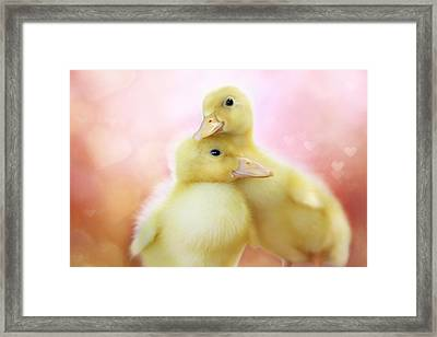 You Make Me Smile II Framed Print by Amy Tyler