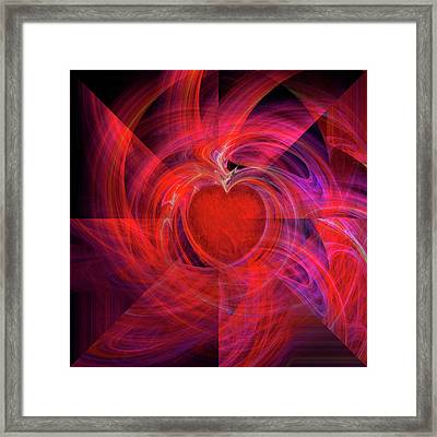 You Make My Heart Beat Faster Framed Print by Michael Durst