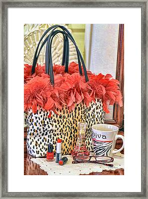 You Might Be A Diva... Framed Print by Kenny Francis