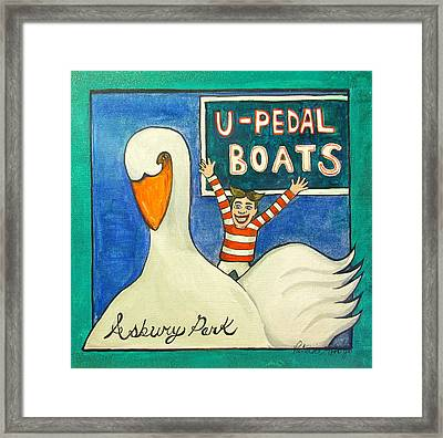 You Pedal Tillie Framed Print by Patricia Arroyo