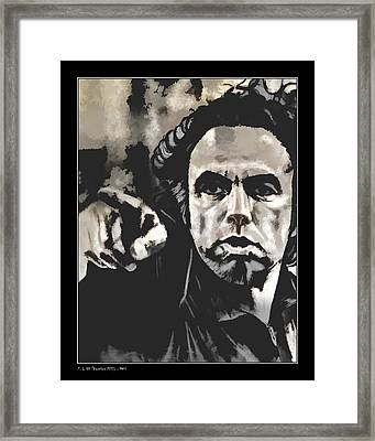 Framed Print featuring the photograph YOU by Pedro L Gili