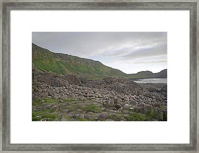 You Rock -- Giant's Causeway -- Ireland Framed Print